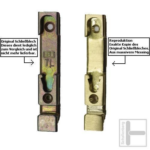 Kipp-Schließblech Siegenia TL-420 Reproduktion