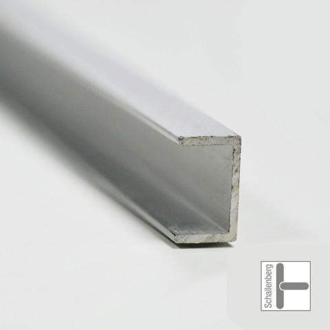 Leichtmetall U-Profil 10x19,5mm