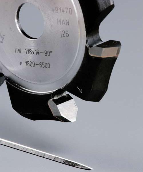 V-Nutfräser HW HW 118x14-90°/Alu
