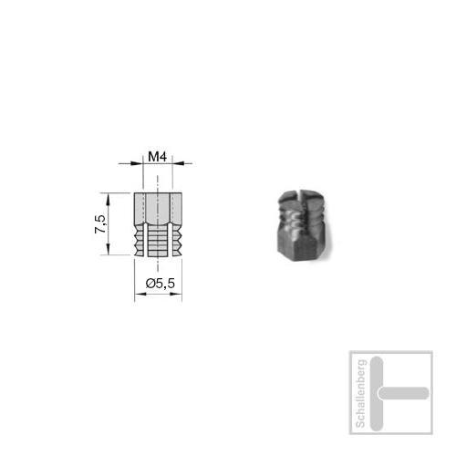 Gewinde Sockel M4 90034
