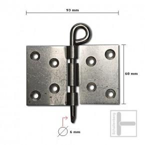 Kulissenscharnier 6 mm