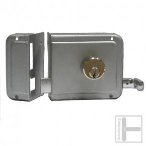 Kastenschloss mit Ziehknopf 2524 rechts / 55 mm