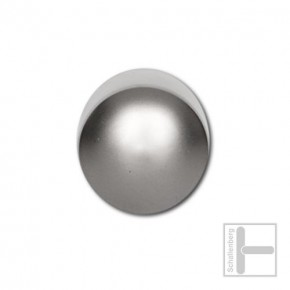 Endkappen Matt-Vernickelt 25 mm