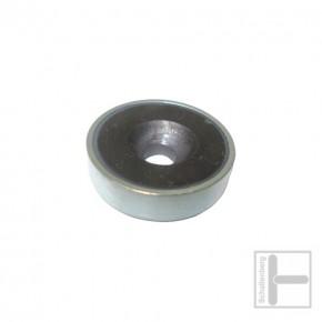 Rundmagnet 25 mm mit Loch