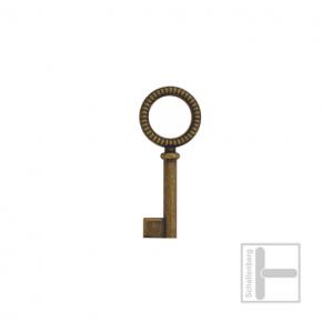 Möbelschlüssel Messing eingefärbt 002.1210