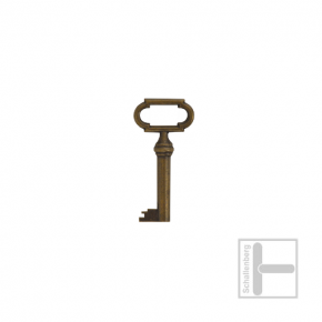 Möbelschlüssel Messing eingefärbt 002.1211