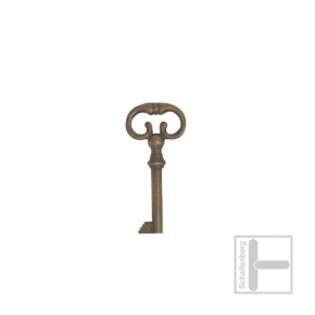 Möbelschlüssel Messing eingefärbt 002.1213