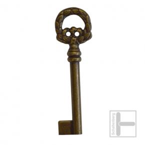 Möbelschlüssel Messing eingefärbt 002.1215
